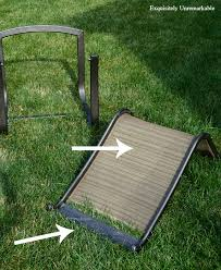 Replacement Patio Chair Slings by Outdoor Makeover How To Replace Patio Furniture Slings