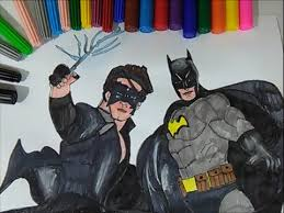 Krrish Vs Batman Coloring Pages Colouring Book How To Color 3 Movie