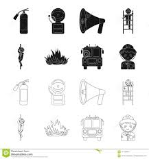 Fireman, Flame, Fire Truck. Fire Departmentset Set Collection Icons ... Firetruck Clipart Free Download Clip Art Carwad Net Free Animated Fire Truck Outline On Red Neon Drawing Stock Illustration 146171330 Engine Thin Line Icon Vector Royalty Coloring Page And Glyph Car With Ladder Fireman Flame Departmentset Colouring Pages Trucks Printable Lineart Of A Cartoon Black And White With Linear Style Sign For Mobile Concept Truck Icon Outline Style Image Set Collection Icons