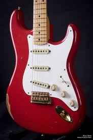 Custom Shop Relic 56 Stratocaster In Fiesta Red