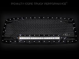 FINALLY! A Truck Grill Made For A BRIGHT LED Light Bar - Royalty ...