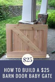 How To Make A $25 Barn Door Baby Gate | Barn Door Baby Gate, Diy ... Baby Gate With A Rustic Flair Weeds Barn Door Babydog Simplykierstecom Diy Pet Itructions Wooden Gates Sliding Doors Ideas Asusparapc The Sunset Lane Barn Door Baby Gate Reclaimed Woodbarn Rockin The Dots How To Make 25 Diy 1000 About Ba Stairs On Pinterest Stair Image Result For House