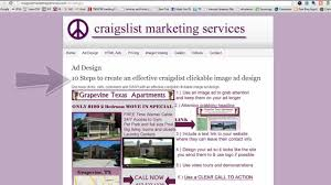 Craigslist 3 Bedroom by 10 Steps To Create An Effective Craigslist Html Clickable Image Ad