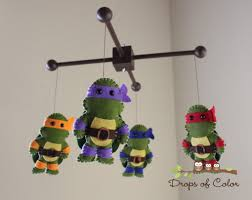 Ninja Turtle Decorations Uk by Baby Mobile Baby Crib Mobile Ninja Turtle Mobile Nursery