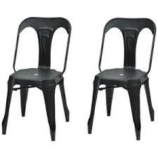 chaise en m tal chaise en mtal free chaise mtal iron marron with chaise en mtal