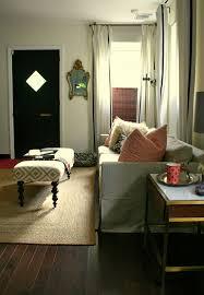 DM Living Room Black Front Door And Sofa