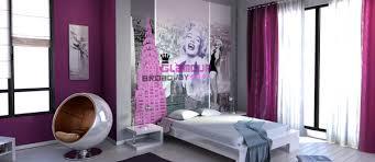 tapisserie chambre fille ado davaus idee tapisserie chambre ado avec des idées