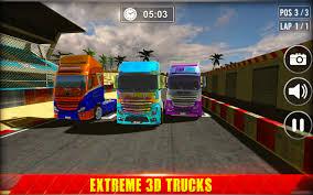 100 Racing Truck Games 3D By Apex Logics