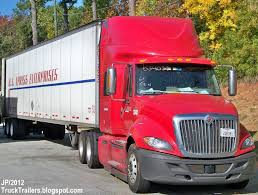 100 Truck Sleeper Cab EXPRESS INTERNATIONAL Tractor Trailer US Express