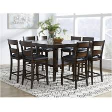 9-Piece Delaney Counter Height Dining Room Collection Buy Round Kitchen Ding Room Sets Online At Overstock Amish Fniture Hand Crafted Solid Wood Pedestal Tables Starowislna 5421 54 Inch Country Table With Distressed Painted Pedestal Typical Measurements Hunker Caster Chair Company 7 Piece Set We5z9072 Wood Picture Decor 580 Tables World Interiors Austin Tx Clearance Center Dinettes And Collections Costco Saarinen Tulip Marble