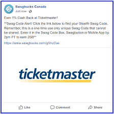SwagBucks New #SwagCode #3 #Canada. Code At Swagbucks.com/shop/store ... Swagbucks New Swagcode 3 Canada Code At Swagbuckscomshopstore Fleet Farm Coupon Code 2018 Holiday Deals From Belfast To Lanzarote Marcus Theatre Promo Michael Kors Styles Presale Ticket Tips And Tricks Codes Nba Store Free Shipping Amazon Student 2 Day Pbr Discount Ticketmaster Ugg Sf Proxy Hub Sf Opera Ticketmaster Voucher Parking Rduction Zalando Priv Process Historynet Disney On Ice Debenhams In