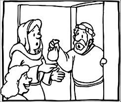 Download Coloring Pages Zacchaeus Page Jesus What Wecoloringpage Picture