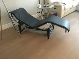 Le Corbusier Style LC4 Chaise Longue   In Fulham, London   Gumtree Lc4 Chaise Lounge By Le Corbusier Flyingarchitecture Genuine Leather Lounge Chair Black The Peculiar Story Of The Longue By Designer Bi Color Products Tr41001 Style Chaise Longue Corbusijeanneret Perriand Lc4 All Sets Dzine Furnishing La White Taracea Mammoth Dark Stained Oak Base