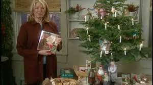 Video Marthas Christmas Decorations White Flocked Tree
