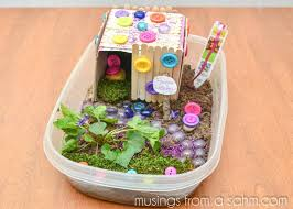 Fairy House Craft Fun Activity For Child Inspiring Bridal Shower Ideas Crafts Kids At Home Beer