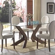 glass top dining room tables including light brown rug home