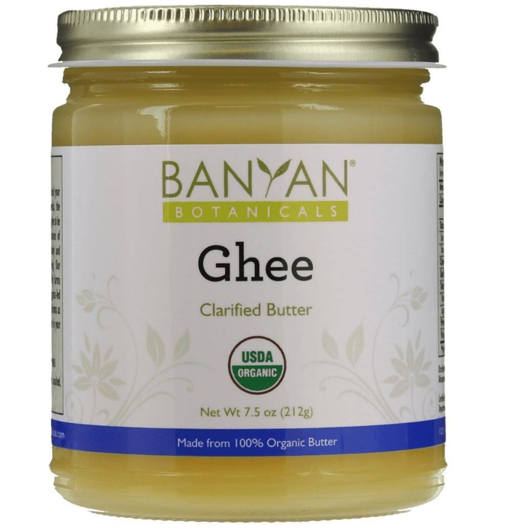 Banyan Botanicals Ghee Organic Clarified Butter - 7.5oz