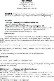 Sample Resume Computer Science Engineering Lecturer Also Example Of 1 2 7 Type Template