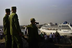Cruise Ship Sinking 2016 by First Us Cruise Ship In Nearly 40 Years Arrives In Havana