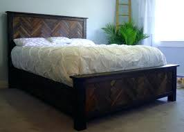 Bed Frame With Headboard And Footboard Brackets by Herringbone Queen Bed Frame Without Headboard Footboard Brackets