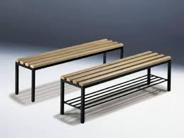 Locker room bench contemporary wooden metal NEO GEKIPS