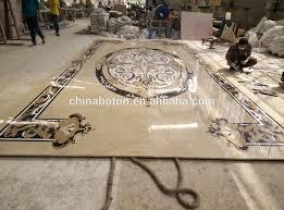 lobby waterjet marble tiles design floor patternmarble