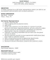 Call Center Sample Resume For Agent Without Experience Examples Freshers