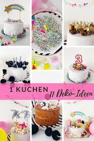 kuchen kindergeburtstag 1 torte 11 ideen minimenschlein
