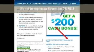 Chase Premier Checking Account 200 Bonus Coupon, Mperks ... Nfl Coupon Promo Code Valid Jet2 Flight Codes Old Navy Gap Employee Discount Dellingers Tire And Auto Coupons Ltd Commodities Coupons 31 Off 13 More Hot Deals Abc Distributing Dr Foster Smith Oregon Prescription Card Promo Code Coupon September 2019 Bowhuntingoutletcom Opti Free Puremoist Globindustrialca Klook Japan Disneyland Romwe First Order Walk In Love Marcus Uniforms Shipping Printable Ltd