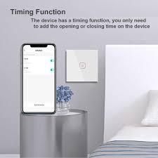 lellki tuya zigbee touch schalter wifi smart licht schalter eu mit neutral draht arbeitet mit stimme hause smart leben 10a