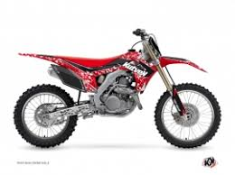 kit deco crf 250 kit déco moto cross honda 250 crf kutvek kit graphik