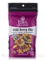 Eden Foods Spicy Pumpkin Seeds by Berry Mix Nuts Seeds U0026 Berries 4 Oz 113 Grams