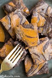 Pumpkin Marble Cheesecake Chocolate by Pumpkin Cheesecake Brownies Gluten Free Refined Sugar Free