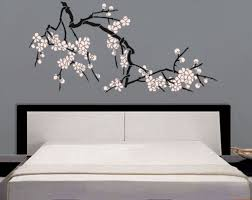 Japanese Cherry Blossom Bathroom Set by Stencil Japanese Cherry Blossoms Large Branch Stencil For