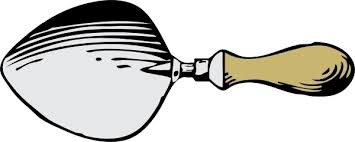 Dutch Trowel clip art