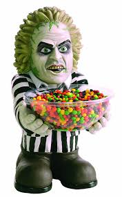 Halloween Candy Dish by Amazon Com Beetlejuice Candy Bowl Holder Toys U0026 Games