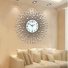 edge to wanduhren european fashion clock wohnzimmer wanduhr modern creative ruhige quarzuhr eisen große wanduhr farbe silber