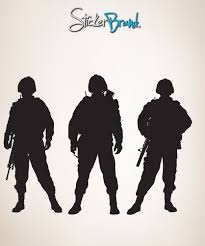 Wall Mural Decals Vinyl by Vinyl Wall Decal Sticker Army Soldiers 852 Army Soldier Wall
