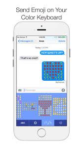 Emoji Emoticons Keypad — Color Keyboard Themes and Emojis Art 2 0