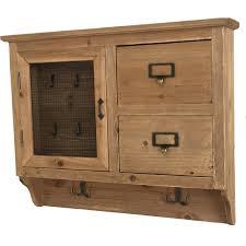 boite a tiroirs en bois meuble entrée boîte clé clef tiroir bois cagne brocante ville haute