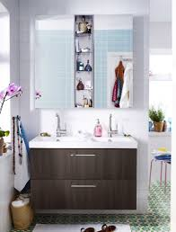 Ikea Bathroom Mirrors Canada by Small Bathroom Design Ideas Wooden Vanity White Wash Basin Green