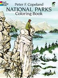 National Parks Coloring Book Dover Nature