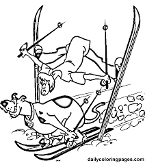 Pin Ski Clipart Disney Winter 9