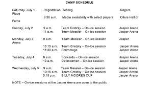 Front Desk Agent Jobs Edmonton by Edmonton Oilers Development Camp Set For July 1 5 In Jasper Alberta