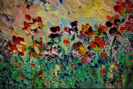 Art Creativity Inspiration Oil Painting Palette Knife