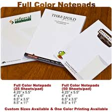 Oc Notepad Printing Irvine Notepads Company Branded Pads