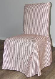 Ticking Stripe Long Box Cushion Dining Chair Slipcover Quickcover Ticking Stripe Relaxed Fit Long Box Pleat Parsons Chair Slipcover Simple And Streamlined The Chair Slipcover Updated Ikea Counter Stools With Bar Stool Slipcovers Refreshing Easy Diy Striped That Exude Pleated Ottoman Howto Sincerely Marie Designs Ruffled Amazoncom Linen Seat Cover On 4 Sides Sure One Piece Henriksdal Ding Skirt How To Sew A For Ikea Henriksdal Sebago Slipcovered Arm Host Chairs Ethan
