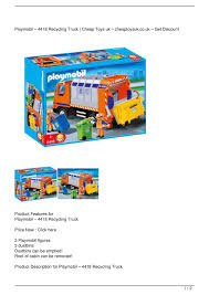 Calaméo - Playmobil – 4418 Recycling Truck Get Rabate Playmobil Green Recycling Truck Surprise Mystery Blind Bag Best Prices Amazon 123 Airport Shuttle Bus Just Playmobil 5679 City Life Best Educational Infant Toys Action Cleaning On Onbuy 4129 With Flashing Light Amazoncouk Cranbury 6774 B004lm3bjk Recycling Truck In Kingswood Bristol Gumtree 5187 Police Speedboat Flubit 6110 Juguetes Puppen Recycling Truck Youtube