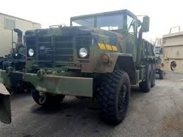 100 5 Ton Dump Truck M930A2 Military With Winch