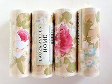 Laura Ashley Home Wallpaper Border Elspeth Shabby Chic Floral Flower Pink Ivory